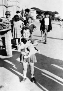45th Soldier and children in the streets of Rome